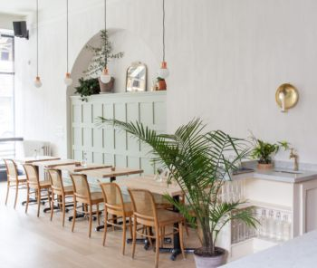Article REMODELISTA and DESIGNLINES cafe with Fresco