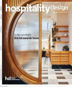 Lune1860 project with Pure & Original Paint wins Hospitality Design Award for event spaces